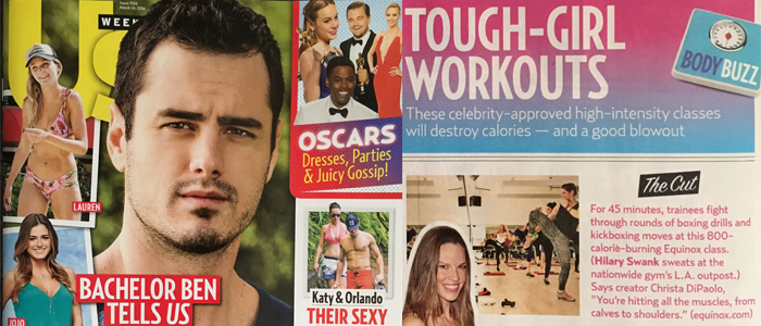 US Weekly – Tough-Girl Workouts